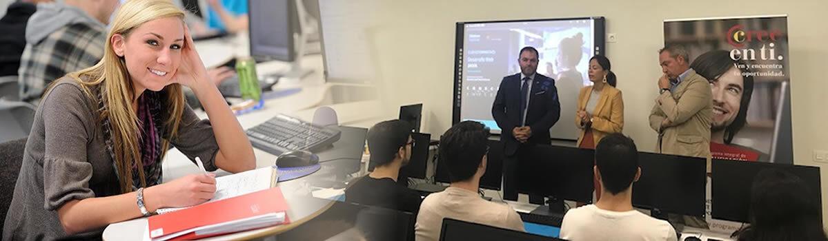 Colaboramos con Cámara de Comercio y Fundación Telefónica  en la formación de jóvenes asturianos. Desarrollo web (Java)