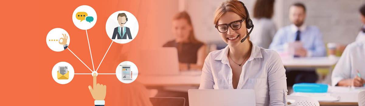 Atención al cliente a través de medios interactivos o digitales