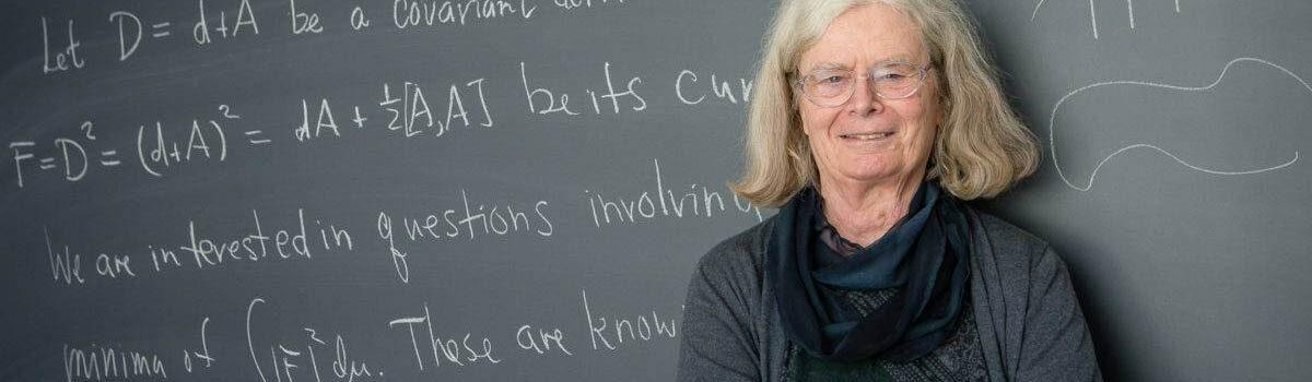 Karen Uhlenbeck y su labor matemática con las ecuaciones en derivadas parciales no lineales